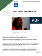 Tenants of Miami Œslums¹ seek better life | The Miami Herald