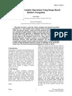 Automated Proximity Operations Using Image-Based