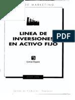 Linea de Inversiones en Activo Fijo Central Hispano Combinado