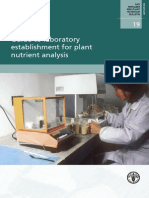 Guide to Laboratory Establishment for Plant Nutrient Analysis