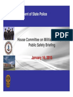 Virginia State Police Presentation to Miltilia, Police and Public Safety Committee 1-16-15