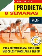 PLAN PRODIETA 8 SEMANAS Para Quemar Grasa, Tonificar Músculos -Mariano Orzola