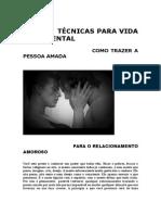 Técnicas Sentimentais - Como Trazer a Pessoa Amada.doc