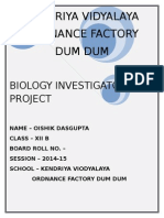 Bio Investigatory