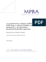 Khan, H., & Patomäki, H. (2013). A reconstructive critique of IPE and GPE from a critical scientific realist perspective An alternative Keynesian-Kaleckian approach..pdf