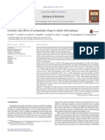 Cosmetic Side Effects of Antiepileptic Drugs in Dults With Epilepsy
