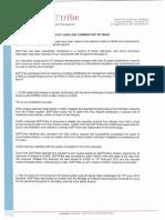 Press Release Response CAGD IMANI 1