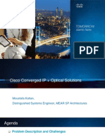 Converged IP Optical Solutions