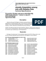 PQI 16 Lower-Extremity Amputation Diabetes Rate