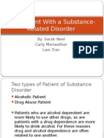 the patient with a substance-related disorder