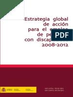 Estrategia Global Personas Discapacidad 2008 2012
