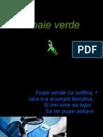 Foaie Verde Fr.