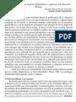 Aspectos glotopolíticos y cognitivos en la educación bilingüe. Fernández, M; Hachén, R.