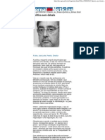 JN -  Política sem debate - José Leite Pereira