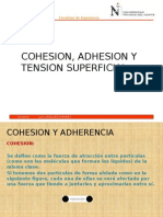 COHESION-ADHES.-TENSION