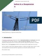 Voltage Distribution in a Suspension Insulator Strain _ EEP