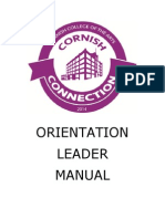 J - Cornish Orientation Leader Manual