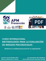 Curso Metodologia Evaluacion Riesgos Psicosociales