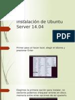 Instalación de Ubuntu Server 14