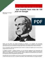 El Matemático Que Inventó Hace Más de 150 Años Cómo Buscar en Google