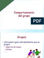 Comportamiento de Grupos