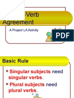 Subj Verb Agreement