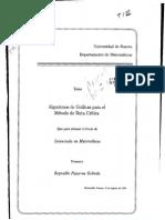 tesis sobre la optimizacion del pert cpm