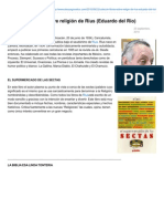 Ateoyagnostico.com-Colección Libros Sobre Religión de Rius Eduardo Del Rio