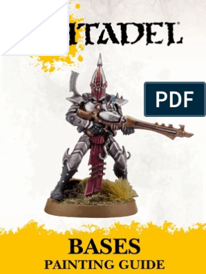 Painting Guide - Bases | Paintings