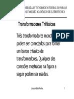 MaquinasI 10 Transformadores Trifasicos