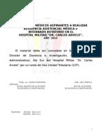 Baremo Interno y Asistencial - 2014-15