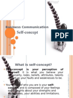 Self Concept_Business Communication_16th Jan,2010
