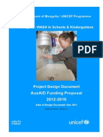 Wash Design Document Pd