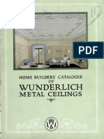 Home Builders Catalogue Wunderlich, 1929