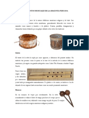 Instrumentos Musicales De La Selva Instrumentos Musicales Guitarras