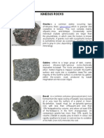 kinds of rocks.docx