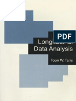 A Primer in Longitudinal Data Analy