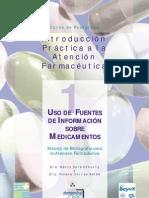 Usos de fuentes de información de medicamentos