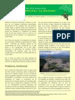 Contaminación del Río Huallaga en La Muyuna-Tingo María