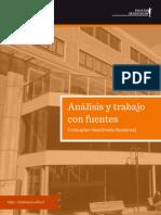 Analisis y Trabajo Con Fuentes