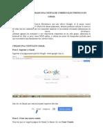 Manual Para Crear Una Cuenta de Correo Electrónico En