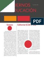 Cuadernos de Educación DIC-FEB (Año IX) nº31