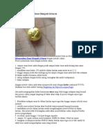 Proses Pemurnian Emas