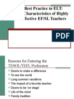 10 Characteristics of Highly Effective Teachers