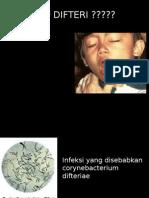 Penyuluhan difteri