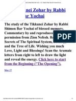 116The Tikkunei Zohar by Ra...#6 Continued One of..
