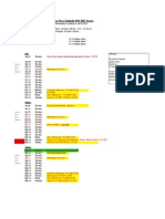 2014-2015 Chora Nova Schedule - First Draft
