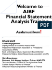 Financial Statement Analysis Final (1)