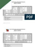 KPMBM ACADEMIC SCHEDULE JAN-JUNE 2015