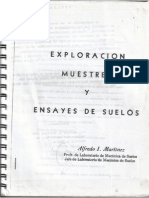 Exploracion, Muestreo y Ensayes de Suelos.